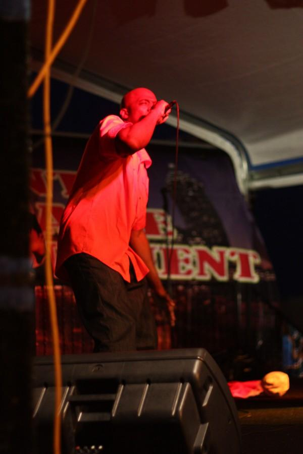 rapper on stage 1
